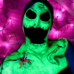 Video: The Nightmare Before Christmas Oogie Boogie Man Body Paint by Bengal Queen