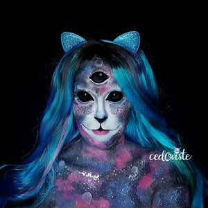 Space Cat by Ana Cedoviste: 31 Days of Halloween