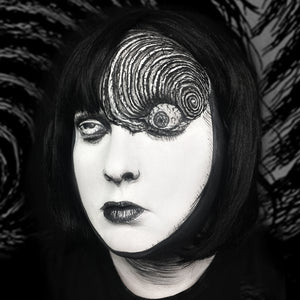 "Uzumaki ""Spiral Girl"" Body Paint Video Tutorial by Bengal Queen"