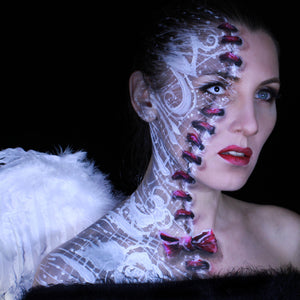 Sewn Together - Stitched Soul Makeup Video by Ulianka Arty