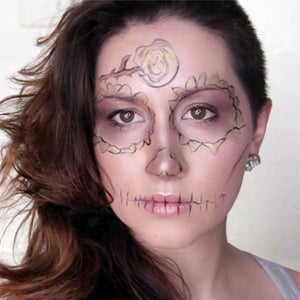 Subtle Dewy Sugar Skull by PTBarpun