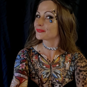 Video: Tattooed Lady Sideshow Circus by Caroline Healy