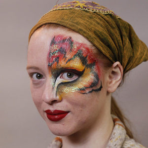 Tiger Eye Halloween Makeup Video Tutorial