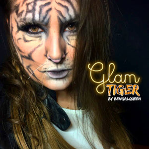 Glam Tiger Makeup Tutorial by Bengal Queen