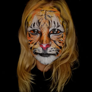 Realistic Tiger Halloween Makeup