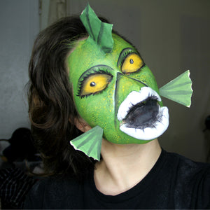 Undersea Gal Nightmare Before Christmas SFX Makeup by PTBarpun