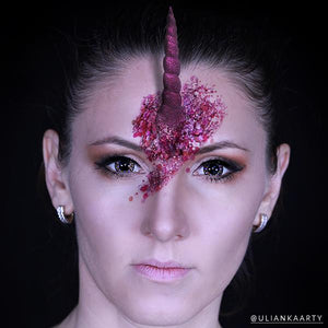 DIY Special FX Unicorn Horn Creation By Ulianka Arty