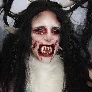 Horrifying Wendigo Makeup by Grimm Huneke