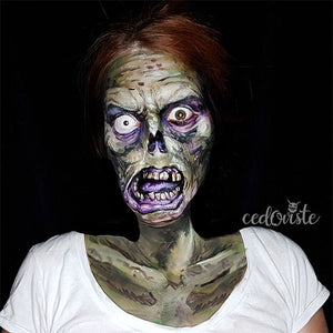 Creepy Zombie by Ana Cedoviste: 31 Days of Halloween