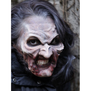 Zombie Halloween Makeup and Prosthetic Video Tutorial