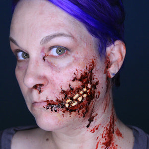 Zombie Mouth Halloween Makeup