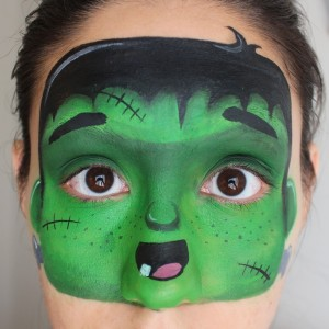 Frankenstein Mask Pictorial