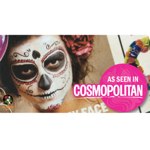 HalloweenMakeup is in Cosmo!