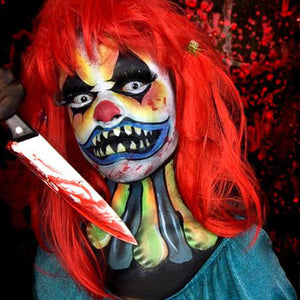 Scary Killer Clown Video by Zuri FX