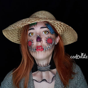 Video: Scarecrow Illusion by Ana Cedoviste: 31 Days of Halloween