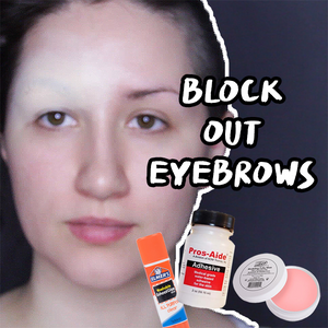 Video: 3 Ways to Block Out Your Eyebrows by PTBarpun