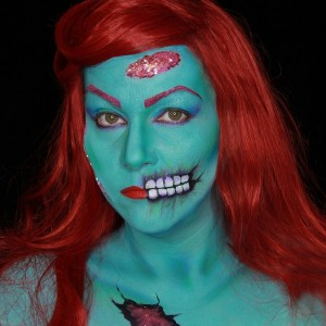 Rockabilly Monster Makeup