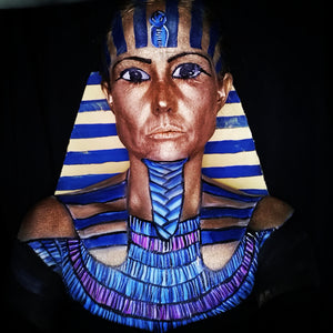 Tutankhamun SFX Face Paint Video by Caroline Healy
