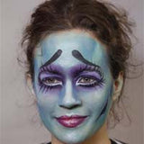 Corpse Bride Halloween Makeup Kit