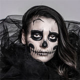 Skeleton Bride Halloween Makeup