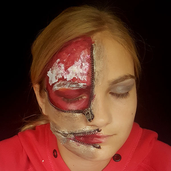 Zipper Face by Caroline Healy