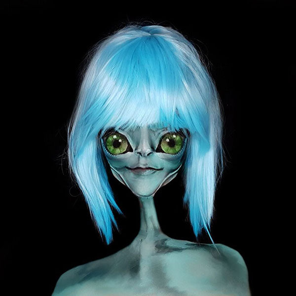 Alien Illusion Makeup by Ana Cedoviste