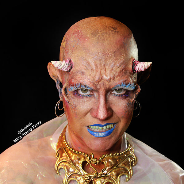 Special FX Alien Makeup by Stacey Perry