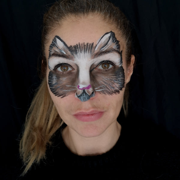 Cat Mask Face Paint