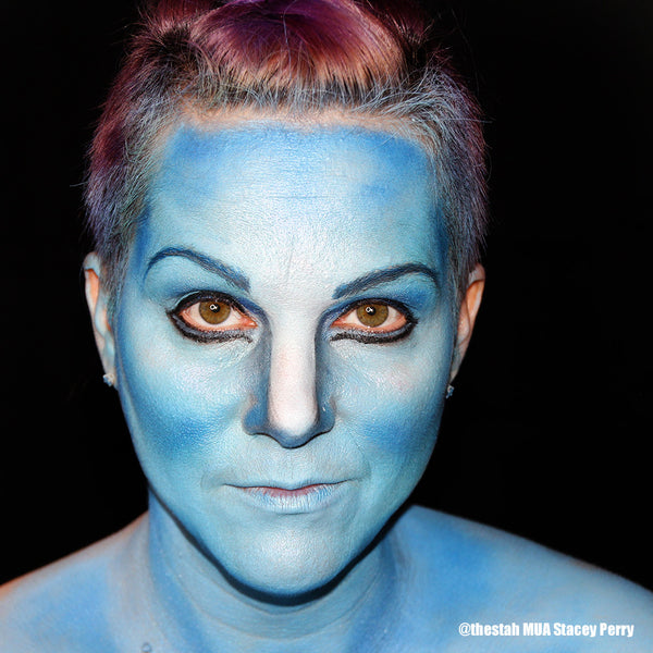 Avatar Makeup by Stacey Perry