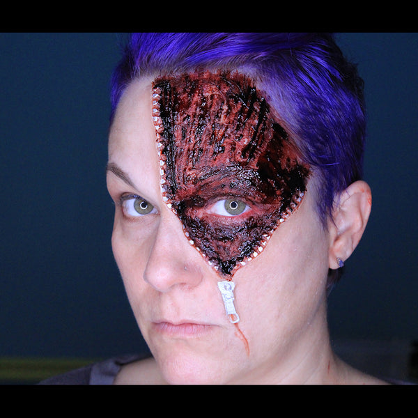 Zipper Eye Special Effect by MUA Stacey Perry