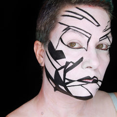 Monochrome Makeup by Stacey Perry