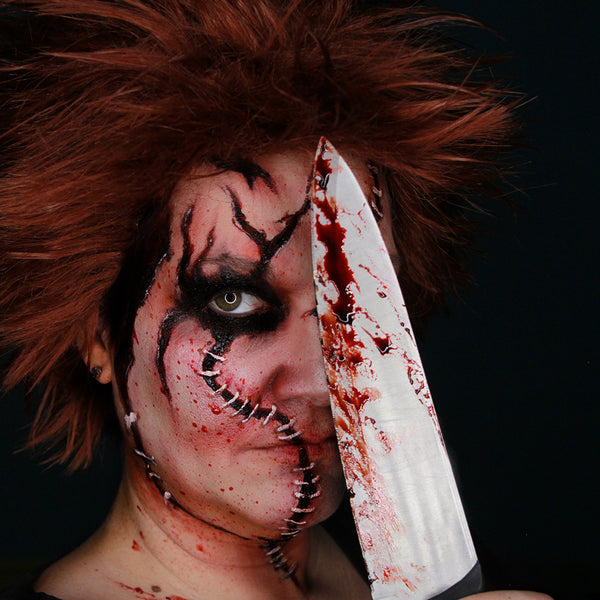 Chucky Halloween Makeup by Stacey Perry (Richard)