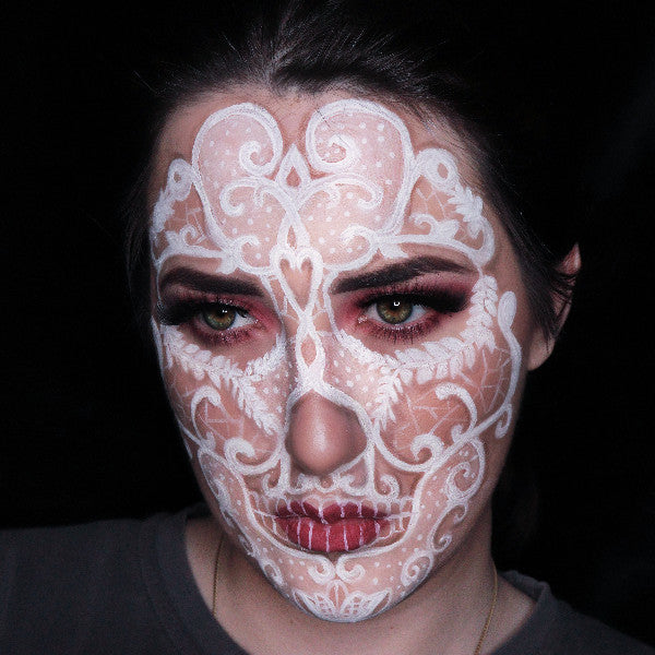 Lace Face Makeup by Cedoviste