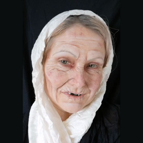 Old Age Makeup by Caroline Healy