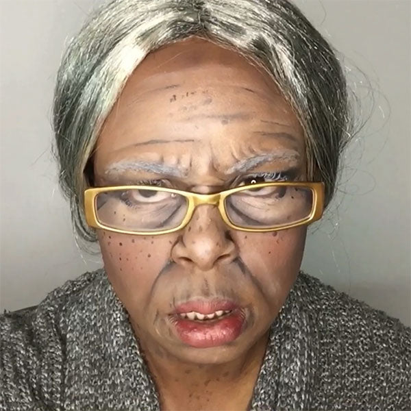 Stages of Life: Old Age Makeup by zuri Fx
