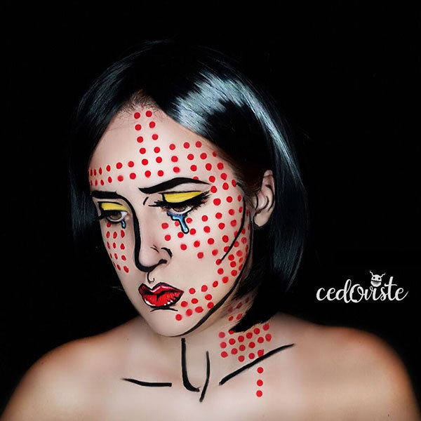 Pop Art Girl Makeup by Ana Cedoviste