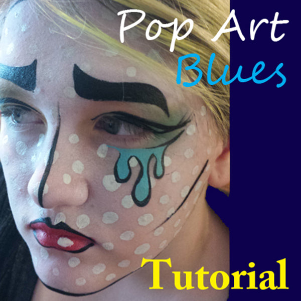 Pop Art Makeup Tutorial with Speech Bubble