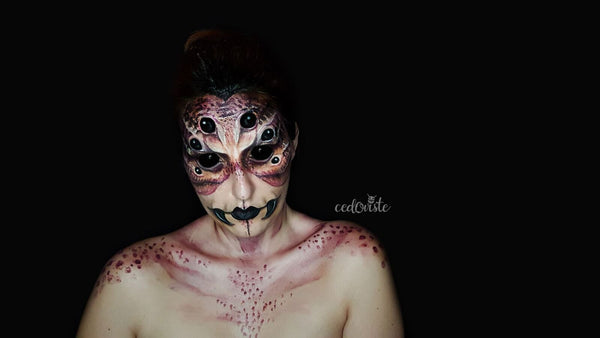Spider Queen Makeup by Ana Cedoviste