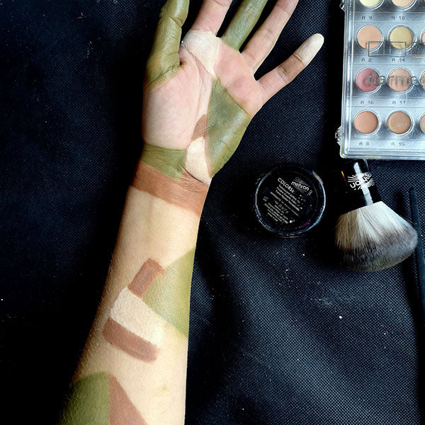 Severed Zombie Arm FX Makeup 2 by Caroline Healy