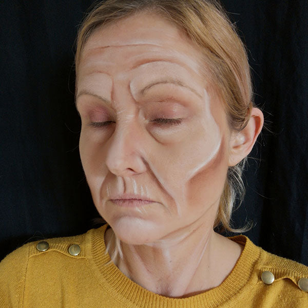 Old Age Makeup by Caroline Healy Step 3