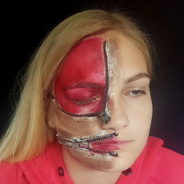 Zipper Face Step 3 by Caroline Healy