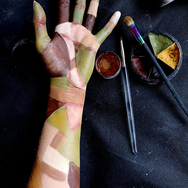 Severed Zombie Arm FX Makeup 4 by Caroline Healy