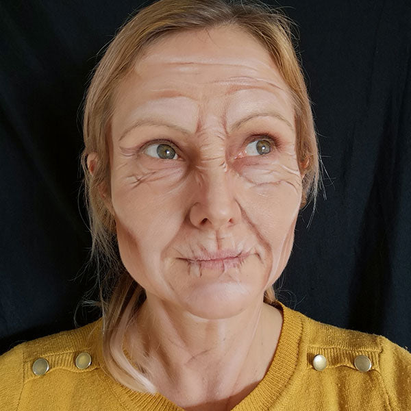 Old Age Makeup by Caroline Healy Step 5
