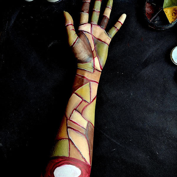 Severed Zombie Arm FX Makeup 6 by Caroline Healy