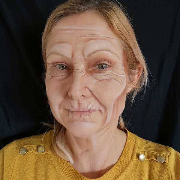 Old Age Makeup by Caroline Healy Step 6