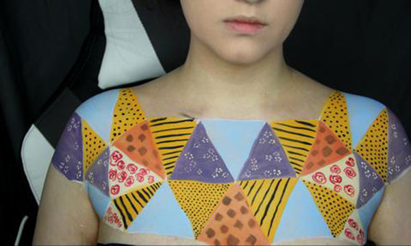 Sewn Together: Old Quilt Body Paint 10 by PTBarpun