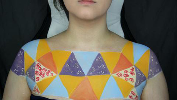 Sewn Together: Old Quilt Body Paint 8 by PTBarpun