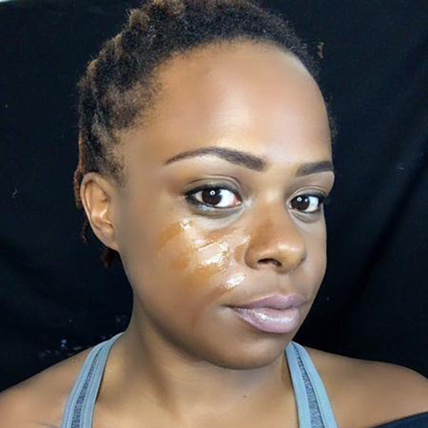 Scratched Face Step 1 by Zuri J