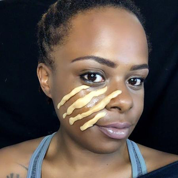 Scratched Face Step 2 by Zuri J