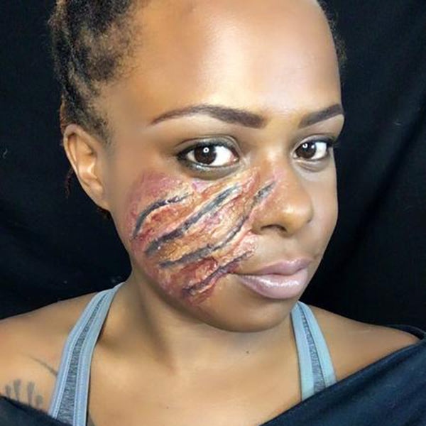 Scratched Face Step 7 by Zuri J
